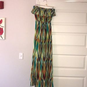 Dresses & Skirts - Multi colored maxi dress